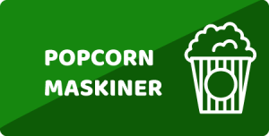 Popcorn maskine Aalborg